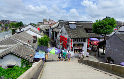 The ancient town of Xitang building Stock Photo