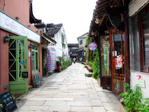 The ancient town of Xitang building Royalty Free Stock Image