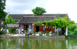 The ancient town of Xitang houses Royalty Free Stock Photos