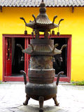 The ancient town of Xitang Incense burner Royalty Free Stock Photography