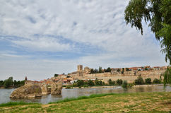 Ancient town of Zamora, Spain Royalty Free Stock Photography