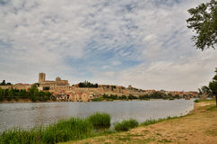 Ancient town of Zamora, Spain Stock Photos