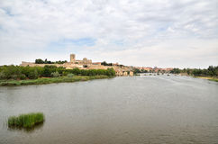 Ancient town of Zamora, Spain Stock Images