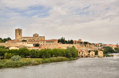 Ancient town of Zamora, Spain Royalty Free Stock Images