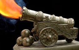 Ancient Toy Gun Royalty Free Stock Photography