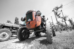 Ancient Tractor Royalty Free Stock Photo