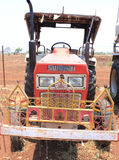 Ancient tractor india Stock Photos