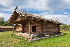 Ancient traditional russian wooden house Stock Photography