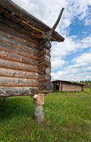 Ancient traditional russian wooden house Stock Photos
