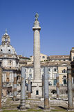 Ancient trajan market in rome Stock Photo