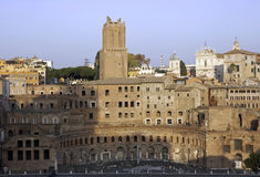 Ancient Trajan's market, Rome Royalty Free Stock Photography