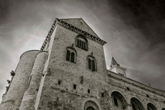 Ancient Trani Cathedral Stock Image