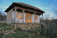 Ancient transylvania house Stock Photography