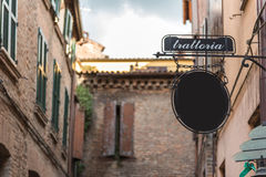 Ancient trattoria Royalty Free Stock Photography
