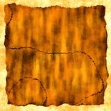 Ancient treasure map Stock Image