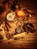 Ancient treasures Stock Images