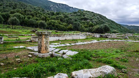 Ancient Troizina Ruins, Greece Royalty Free Stock Photos
