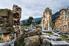Ancient Troizina Ruins, Greece Stock Images