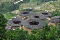 Ancient Tulou Stock Image