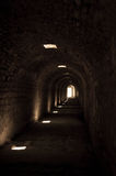 Ancient tunnel Stock Images