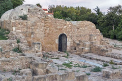 Ancient Turkish Baths in Paphos Royalty Free Stock Images
