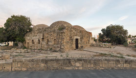 Ancient Turkish Baths in Paphos Stock Photo