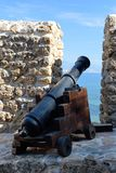 Ancient Turkish cannon Royalty Free Stock Images