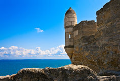 Ancient turkish fortress. Royalty Free Stock Image