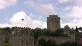 The ancient Turkish fortress stock video