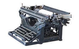 Ancient typewriter Royalty Free Stock Photo