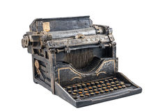 Ancient typewriter Stock Photo