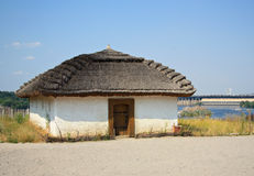 The ancient Ukrainian house Royalty Free Stock Photos