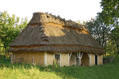 Ancient ukrainian rural barn Royalty Free Stock Image