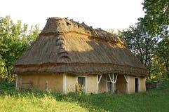 Ancient ukrainian rural barn Royalty Free Stock Image
