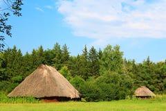 Ancient Ukrainian settlement Stock Image