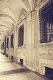 Ancient university building. Bologna. Italy Royalty Free Stock Photo