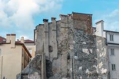 Ancient urban building Stock Photos