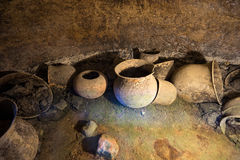 Ancient urns in Colombia Stock Photography
