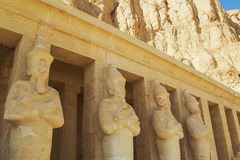 Ancient Valley of Queens Temple in Luxor Stock Photography