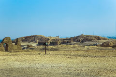Ancient Valley of Queens Temple in Luxor Royalty Free Stock Photos