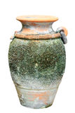 Ancient vase isolated Stock Images
