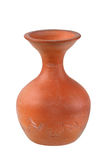 Ancient vase isolated on white. Background royalty free stock photos