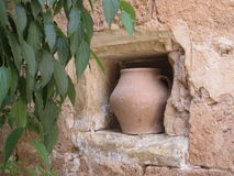 Ancient vase Stock Photography