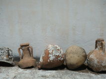 Ancient vases. Royalty Free Stock Images