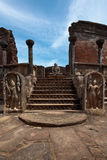Ancient Vatadage (Buddhist stupa) royalty free stock photos