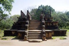 Ancient Vatadage (Buddhist stupa) Stock Images