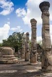 Ancient Vatadage Buddhist stupa in Pollonnaruwa Royalty Free Stock Image