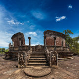 Ancient Vatadage, Sri Lanka Stock Photos