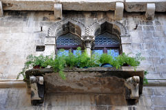Ancient Venetian windows Royalty Free Stock Images