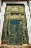 Ancient Venetian wooden door Royalty Free Stock Photography